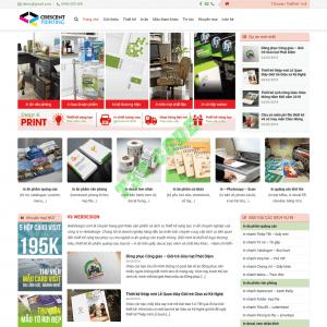 Theme web wordpress flatsome dịch vụ in ấn 03