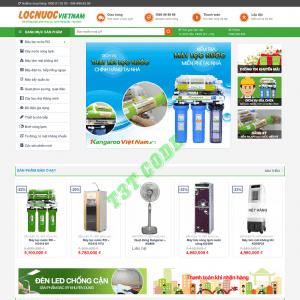 Theme web wordpress flatsome bán máy lọc nước 02
